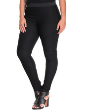 Bottoms - Hotness Moto Skinny Pant (Plus)