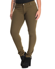 Bottoms - Ponte 5 Pocket Skinny Pant (Plus)