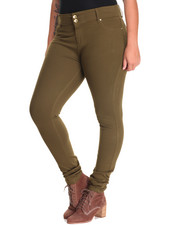 Jeggings  - Ponte 5 Pocket Jegging (Plus)