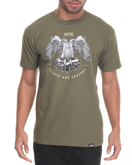 Rolling Paper - Men Olive Cr8 T-Shirt - $14.99