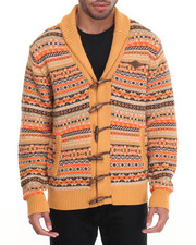 Parish - Fairisle Cardigan Sweater
