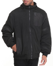 Buyers Picks - Distance Ballistic Nylon - Trimmed Lined Fleece Jacket