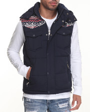 Vests - Snowflake Bubble Vest