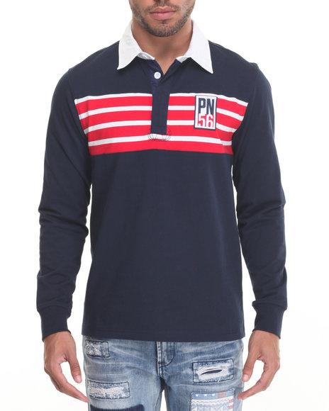 Parish - Men Navy Sport Rugby - $39.99