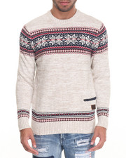 Men - Snowflake Sweater