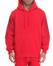 Basic Essentials - Quilted Fleece Hoodie