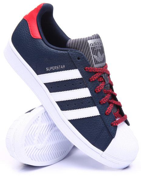 Adidas - Men Navy Superstar Varsity Lo