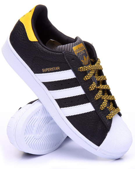 Adidas Men Superstar Varsity Lo Black 10.5