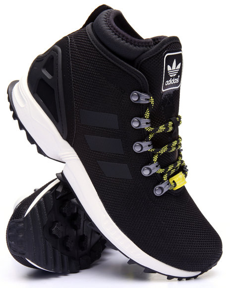 Adidas Men Z X Flux Ballistic Mesh Boots Animal Print 8