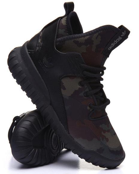 Adidas - Men Black Tubular X Camo