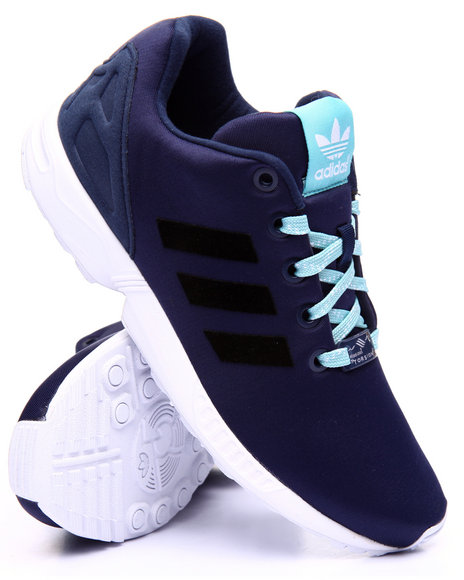 Adidas Boys Zx Flux K Sneakers (3.57) Navy 4 Youth
