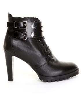 -FEATURES- - Lace Up Ankle Boot