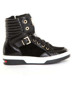 -FEATURES- - Hi Top Moschino Sneakers