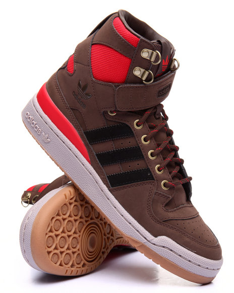 Adidas Men Forum Hi O G Nubuck B T Brown 9