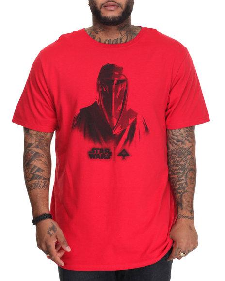 Lrg - Men Red Face Of War T-Shirt (B&T)