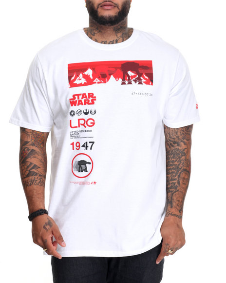 Lrg - Men White The Iconic T-Shirt (B&T)