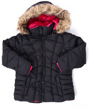 Heavy Coats - QUILTED BUBBLE JACKET (7-16)