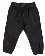 LRG - HEAVY MENTAL COATED DENIM JOGGERS  (2T-4T)