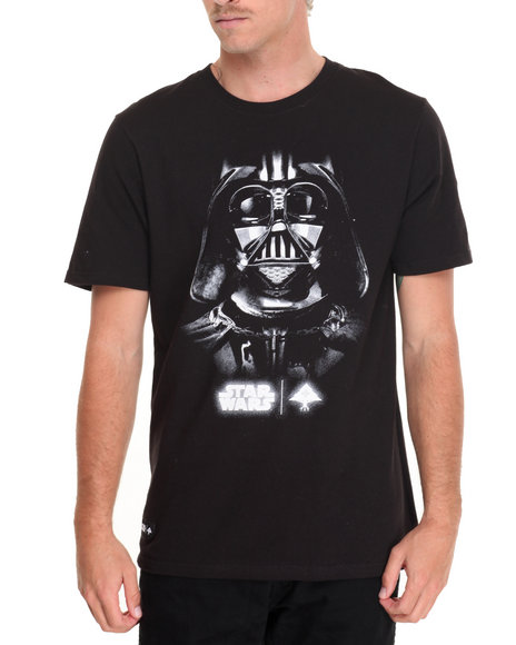 Lrg - Men Black Face Of War T-Shirt