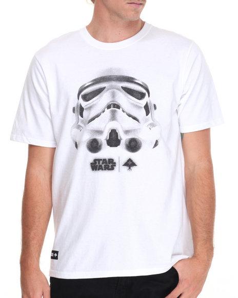 Lrg Men Face Of War T-Shirt White Medium