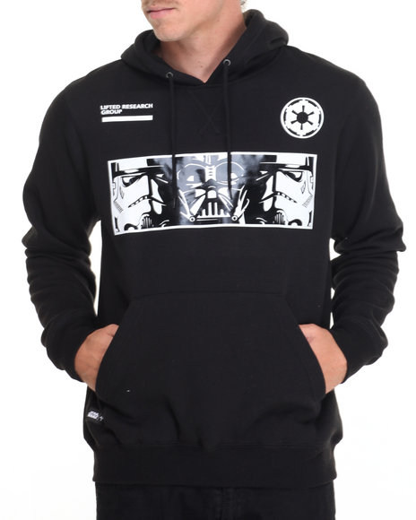 Lrg Men The Empire Pullover Hoodie Black Small