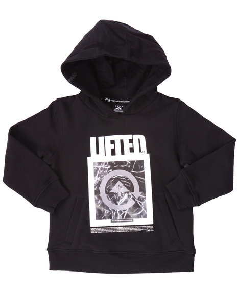 Lrg - Boys Black Cleanness Pullover Hoodie (4-7)