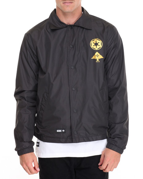 Lrg - Men Black The Vader Coaches Jacket