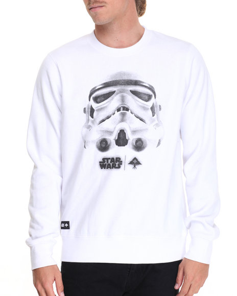 Lrg Men Face Of War Sweatshirt White X-Large