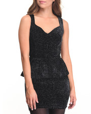Women - April Sequin Peplum Party Dress