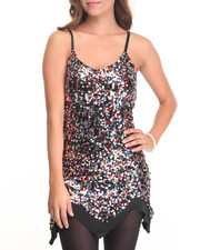 Women - Angela Strap Bodycon Sequin Dress