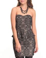 Women - Lace Mini Dress