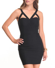 Women - Craft Cage Bodycon Dress