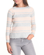 Women - Stripe Lightweight Sweater