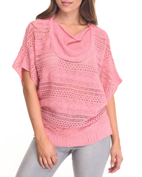 Fashion Lab - Women Pink Sweather Dolman