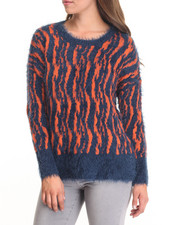 Women - Furry Sweater