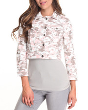 Women - Blush Camo Jacket