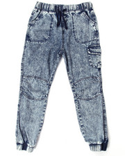 La Galleria - ACID WASH JOGGERS (7-16)