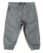 Boys - COATED DENIM JOGGERS (2T-4T)