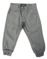 Pants - COATED DENIM JOGGERS (4-7)