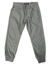 Bottoms - COATED DENIM JOGGERS (8-20)
