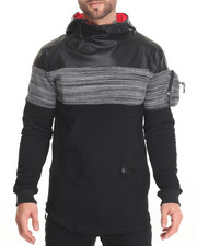 Men - H D S N Side - Zip Pullover Hoodie
