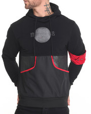 Men - International Arm Band Pullover Hoodie