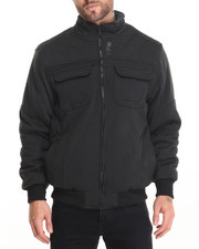 Men - Chaser Diamond - Qulit Fleece Jacket