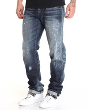 Straight - Barracuda Paint Smear Jean