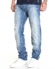 Straight - Barracuda Worn Look  Jean