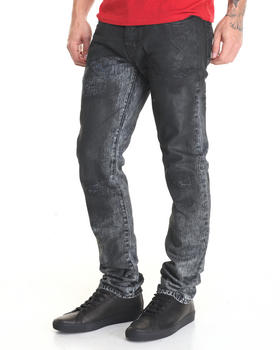 -FEATURES- - Demon Distressed Jean