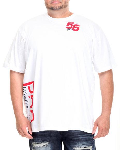 Parish - Men White Graphic T-Shirt (B&T)
