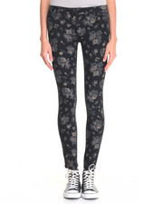 Bottoms - Floral Print SKinny