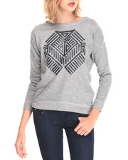 Fashion Lab - Southweater Print Pullover