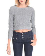 Women - Crop Sweater